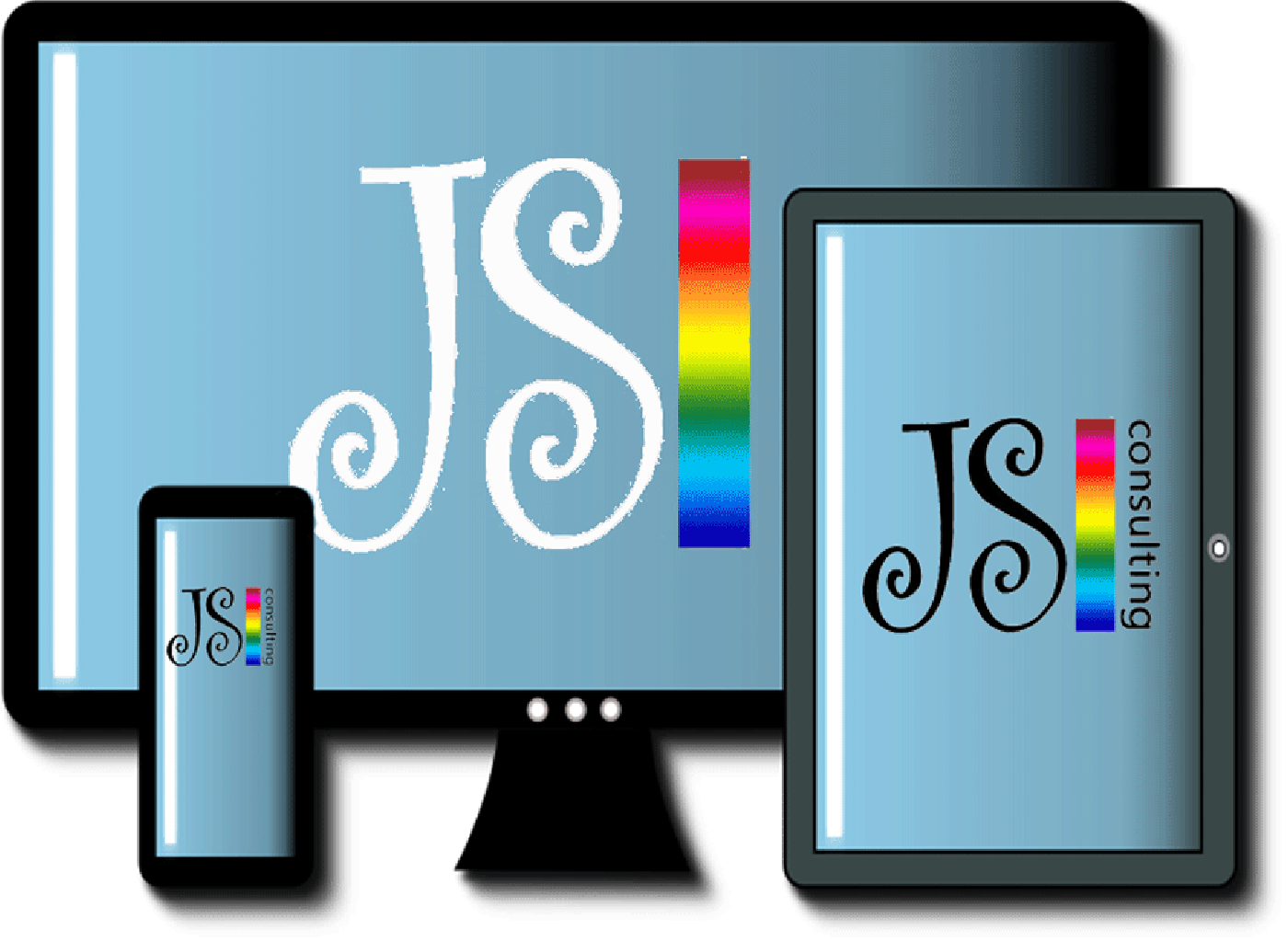 Mobile friendly responsive website design by JS Consulting