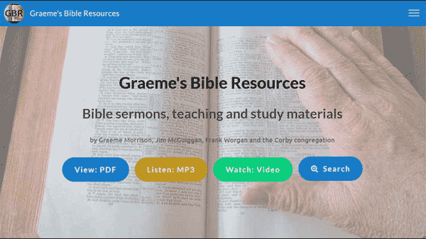 Graemes Bible Resources